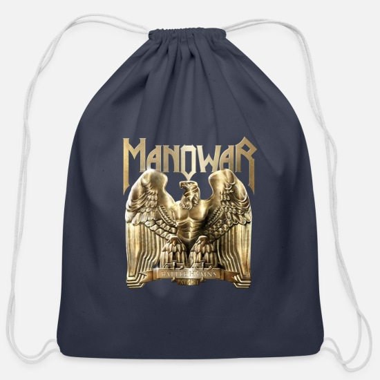 2019 Bags & Backpacks - THE FINAL BATTLE TOUR 2019 MANOWAR - Cotton Drawstring Bag navy