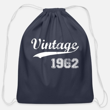 1962 1962 - Cotton Drawstring Bag