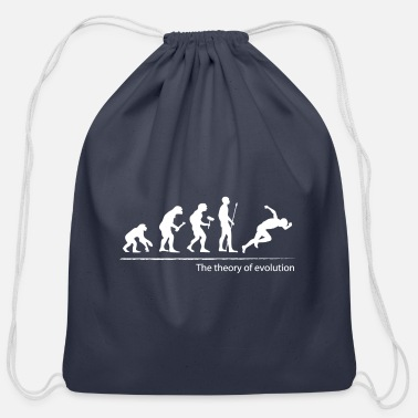 The theory of evolution (Athletics) - Cotton Drawstring Bag