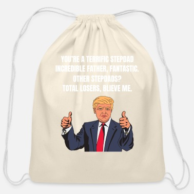 Donald Trump Father's day Shirt Fathers day Gifts - Cotton Drawstring Bag