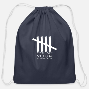 Count-royal Count Your Blessings - Cotton Drawstring Bag