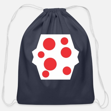 Stains Red Stain - Cotton Drawstring Bag