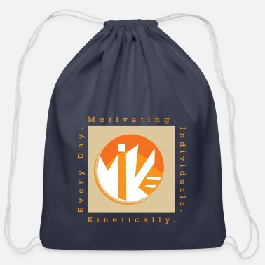 M.I.K.E Motivating Individuals - Cotton Drawstring Bag