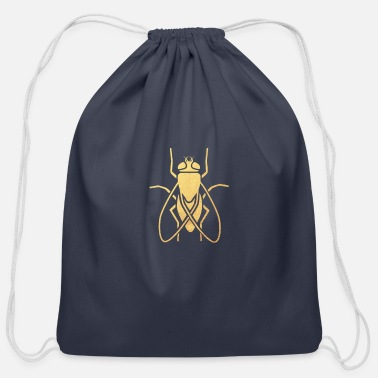 Fly Fly - Cotton Drawstring Bag