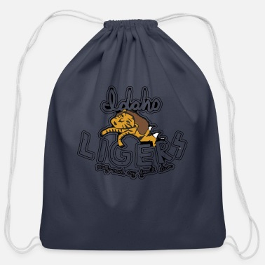 Liger Idaho Ligers - Cotton Drawstring Bag