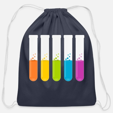Test Tube test tubes - Cotton Drawstring Bag