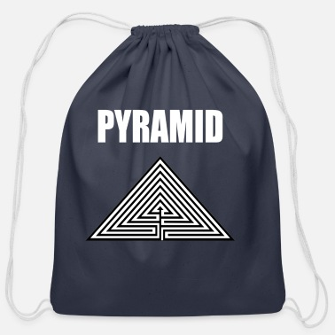 Pyramid PYRAMID - Cotton Drawstring Bag
