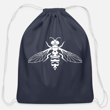 Fly Fly Insects - Cotton Drawstring Bag