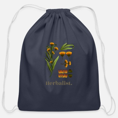 Herbalist - Cotton Drawstring Bag