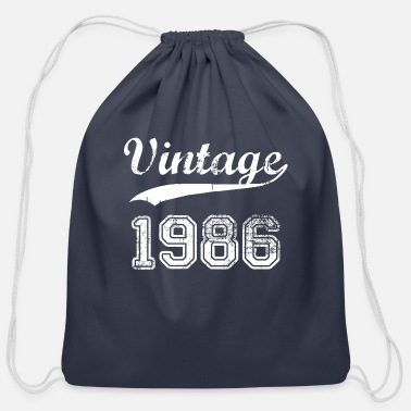 1986 1986 - Cotton Drawstring Bag