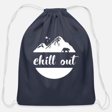 Chill Out Chill Out - Cotton Drawstring Bag