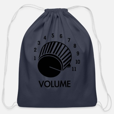 Knob Volume Knob Up To 11 - Cotton Drawstring Bag