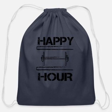 Happy Hour HAPPY HOUR - Cotton Drawstring Bag