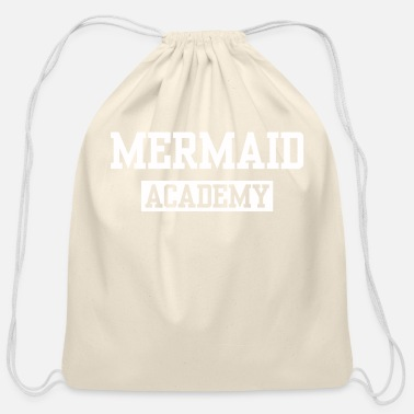 Fine MERMAID ACADEMY - Cotton Drawstring Bag