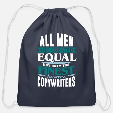Homepage copywriter homepage writer advertising blogger - Cotton Drawstring Bag