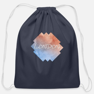 London London - Cotton Drawstring Bag