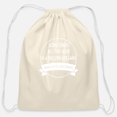 Rich To Be Rich - Cotton Drawstring Bag