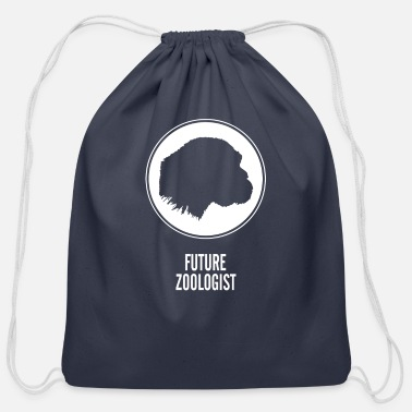 Future Zoologist - Cotton Drawstring Bag