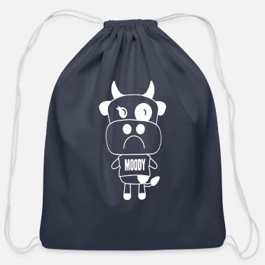 Moody MOODY COW - Cotton Drawstring Bag