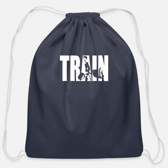 Training Bags & Backpacks - TRAIN - Cotton Drawstring Bag navy