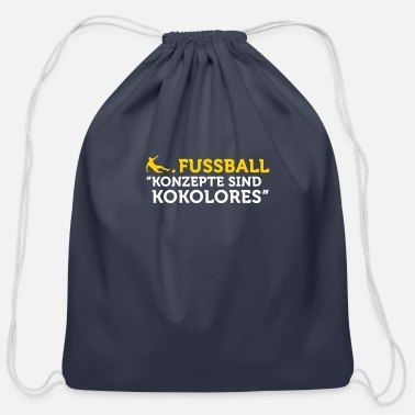 Tosh Football Quotes: Concepts Are Tosh! - Cotton Drawstring Bag