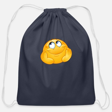 Dreamy Dreamy emoticon - Cotton Drawstring Bag