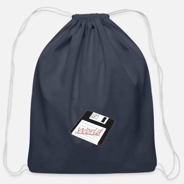 Save World Save World - Cotton Drawstring Bag
