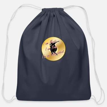 Rapper Indie Artist (Rapper/Hip Hop) - Cotton Drawstring Bag