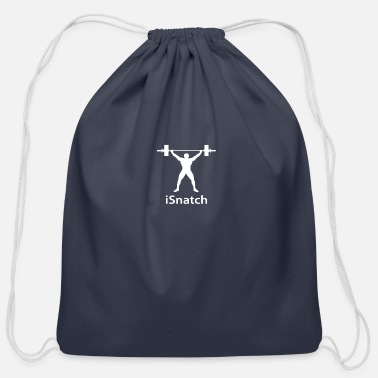 Snatch I snatch - Cotton Drawstring Bag