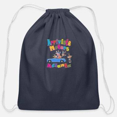 Motor arrivste motors - Cotton Drawstring Bag