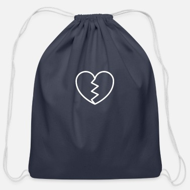 Broken Broken - Cotton Drawstring Bag