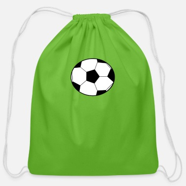Soccer Ball Soccer Ball - Cotton Drawstring Bag