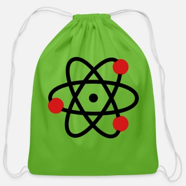 Atom atom - Cotton Drawstring Bag