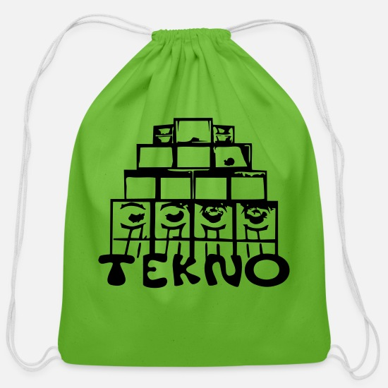 Free Bags & Backpacks - 23 0020 tekno system - Cotton Drawstring Bag clover