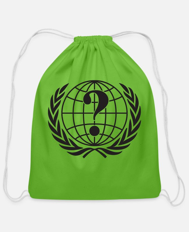 Anon Bags & Backpacks - Anonymous - Cotton Drawstring Bag clover