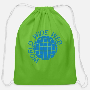 Www INTERNET WWW - Cotton Drawstring Bag