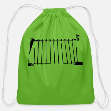Gate gate - Cotton Drawstring Bag