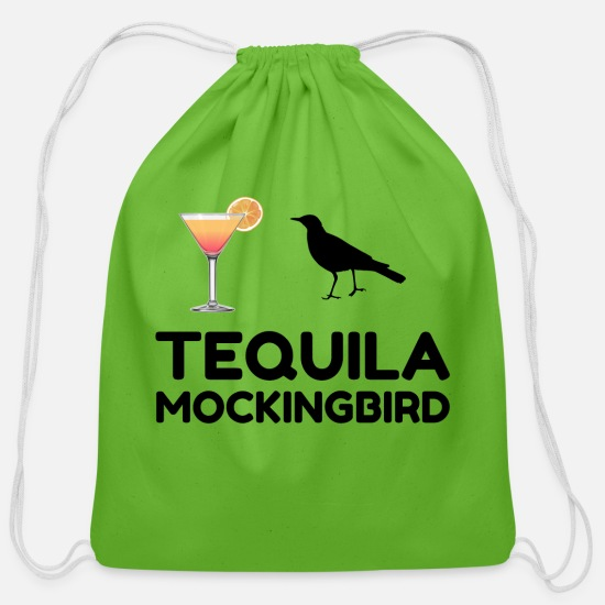 Christmas Bags & Backpacks - TEQUILA MOCKINGBIRD - Cotton Drawstring Bag clover