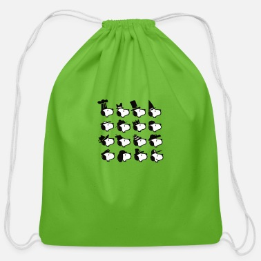 Parade snoop parade - Cotton Drawstring Bag