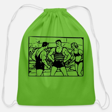 Macho Man Macho Man - Cotton Drawstring Bag