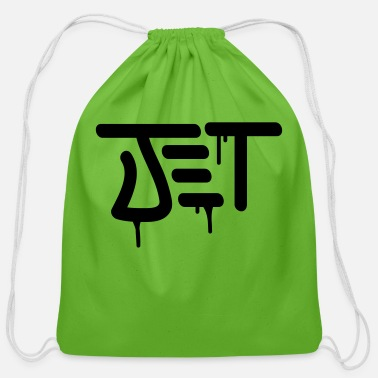 Jet Jet - Cotton Drawstring Bag