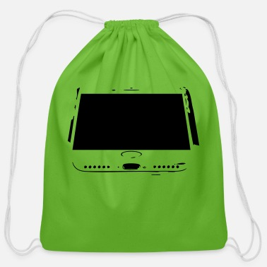 Phone phone - Cotton Drawstring Bag