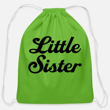 Little Sister Little Sister - Cotton Drawstring Bag