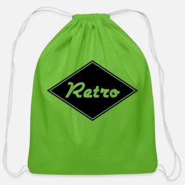 Retro Retro - Cotton Drawstring Bag
