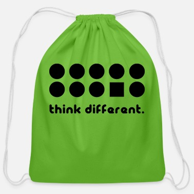 Think Different THINK DIFFERENT - Cotton Drawstring Bag