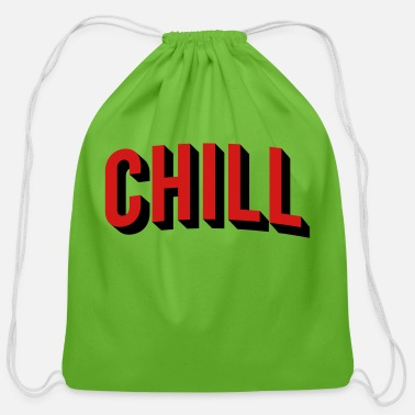 Chill chill - Cotton Drawstring Bag