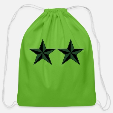 2 Star General Mision Militar Major General MG Rank, Mision Militar ™ - Cotton Drawstring Bag