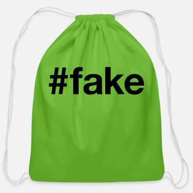 Fake FAKE - Cotton Drawstring Bag