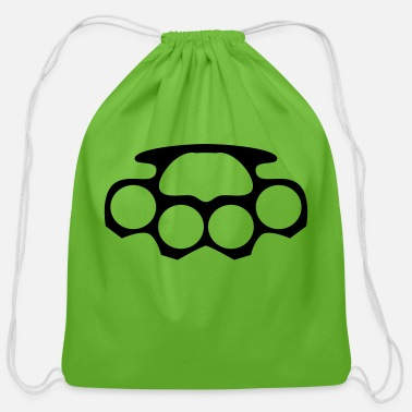 Knuckle Knuckled brass - Cotton Drawstring Bag