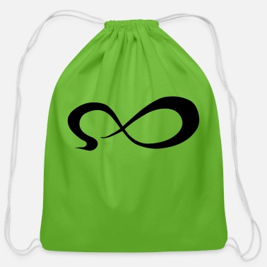 Symbol Infinity - Cotton Drawstring Bag
